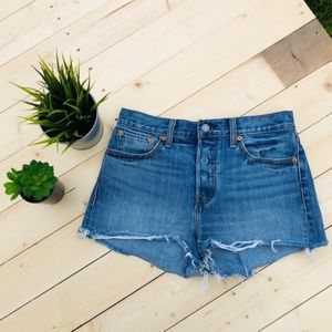 ❤️Levis jean shorts button fly